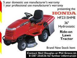 Honda HF2315HME - 2004