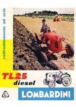 Lombardini TL 25 brochure