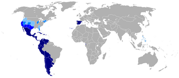 Map-Hispanophone World