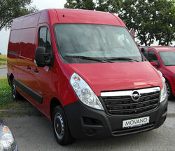 Opel Movano B front 20100705