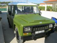 PORTARO Jipe 280 DCM 4X4 Diesel de 1989