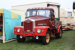 Scammell Highwayman - Aylesbury Duck - WUU 766 at Old Warden 09 - IMG 0814