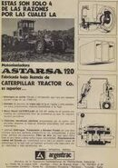 Astarsa 120 grader (Cat licensed) ad