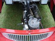 Bond minicar engine bay 1959
