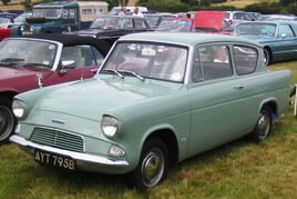 Ford Anglia basic reg 1964