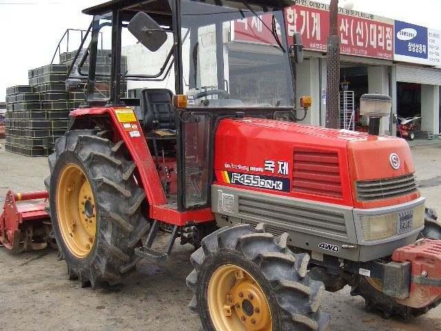 Kukje F455DN-K | Tractor & Construction Plant Wiki | FANDOM powered