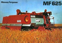 MF 625 combine brochure