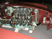 Sectioned MGB at the British motoring heritage museum gaydon (3)