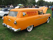 1956 Canadian Pontiac Pathfinder Sedan Delivery