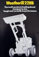 A 1960s Weatherhill 22HB Loader Diesel