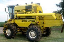 Araus 505 DTH combine