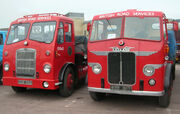 British Road Services livery vehicles