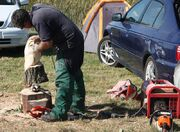 Chainsaw craving at Haddenham rally 2012 - IMG 9498-cropped
