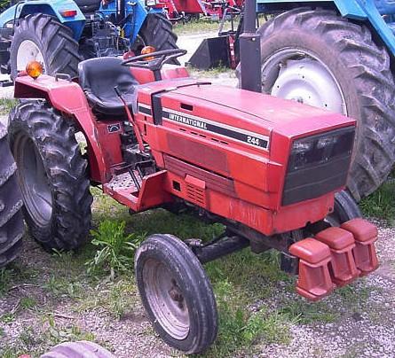 international 244 tractor construction plant wiki. Black Bedroom Furniture Sets. Home Design Ideas