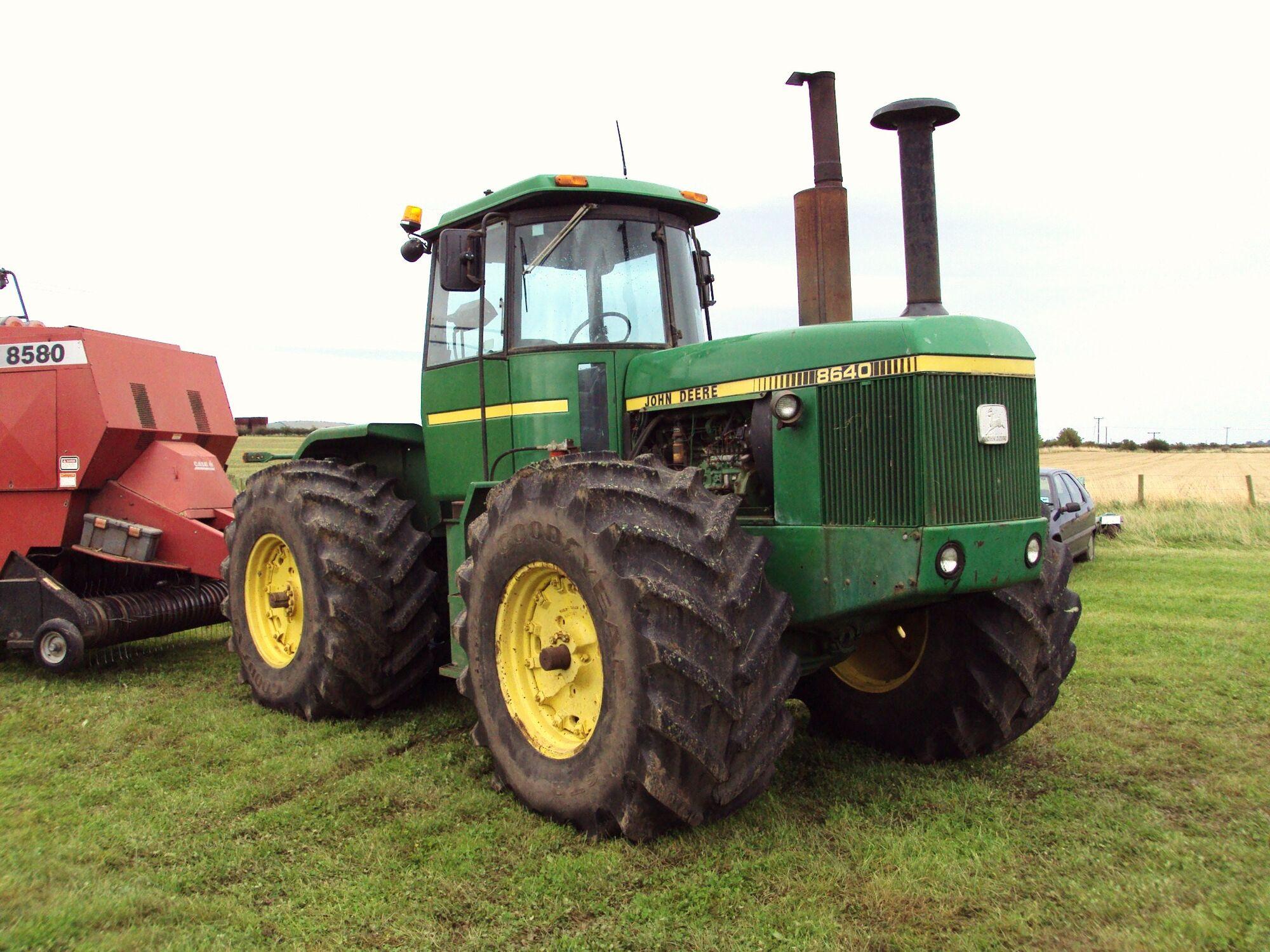 John Deere 8640 | Tractor & Construction Plant Wiki | FANDOM