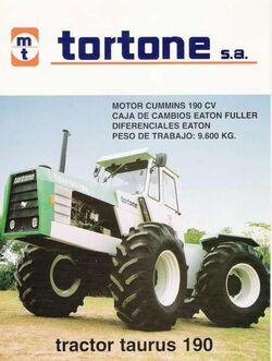 Tortone Taurus 190 4WD brochure
