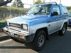 1992-1993 Daihatsu Feroza (F300GD) SE 01