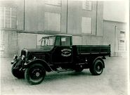 A 1930s Thornycroft Strenous Tipper Lorry