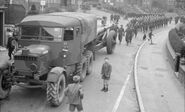 A 1940s Scammell Pioneer R100 Artillery Tractor
