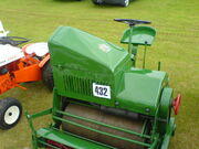 Ransomes greenkeepers cylinder mower - at Lincoln 08 - DSC00030
