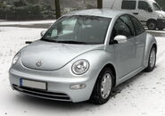 VW New Beetle front