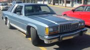'87 Ford LTD Crown Victoria Coupe