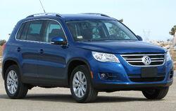 2009 Volkswagen Tiguan SE -- NHTSA