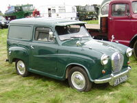 Austin A35 Van - AFX 535B at Rushden 08 - P5010267