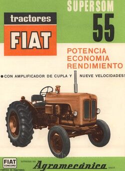 Fiat Concord SuperSom 55 brochure