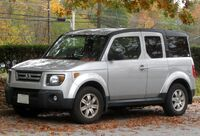 Honda Element EX -- 10-30-2009