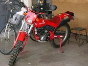 Honda TLM220R red