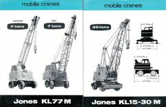JONES Cranes of the 1980s