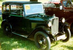 Morris Minor Saloon 1932
