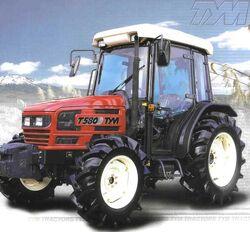TYM T580 MFWD w cab - 2003