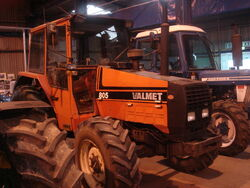 Valmet 805 at Bath - DSC01722