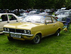 Vauxhall Firenza KGM 250P at Newby Hall 08 - P6080120