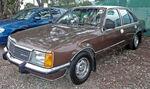 Brown sedan automobile