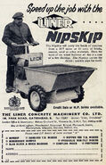 A 1950s LINER Nipskip model