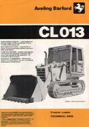 A 1980s Aveling Barford CL013 Crawler Loader Diesel