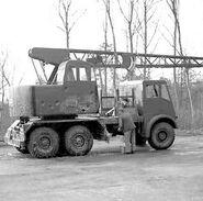 1940s Coles Ulysses Cranetruck 6X6