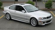 2005 BMW 330Ci ZHP Silver