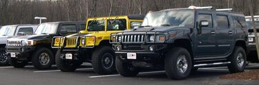 2006 Hummer H3 H1 and H2