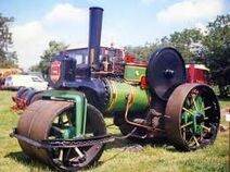 A 1920s ALLEN Of Oxford Steam Roadroller
