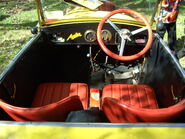 Austin 7 ACT Historic Car 195 interior