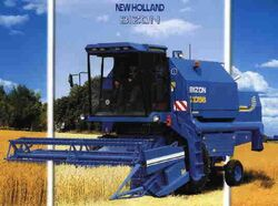 Bizon Z058 combine (NH) - 2002