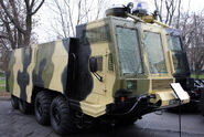 Internal troops ABS-40 riot control vehicle
