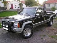 Jeep comanche Laredo longbed 1988