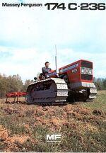 MF 174C 236 crawler (Landini) brochure