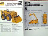 Massey Ferguson 811 Underground skid-steer