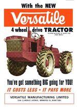 Versatile D100 4WD ad -